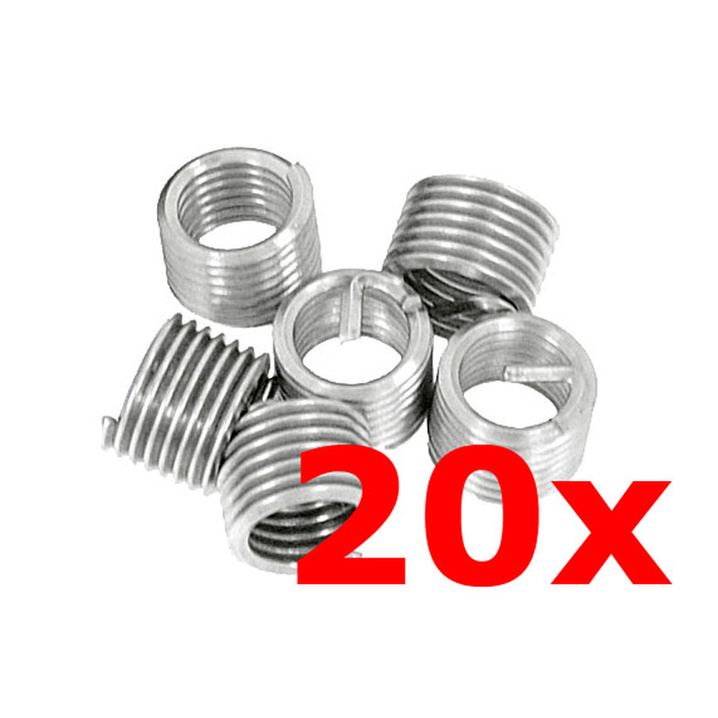 Thread repair Thread inserts RP-TOOLS M6 x 1.0 20 pcs.